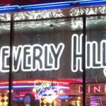 вывеска для ресторана beverly hills